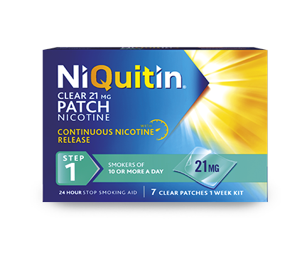 Discover NiQuitin® Clear Patch
