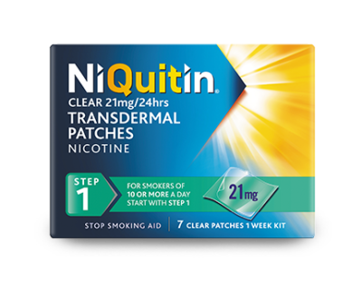 Niquitin Clear Patche step 1