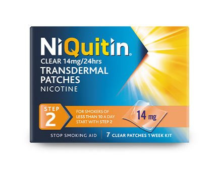 Niquitin Clear Patche step 2