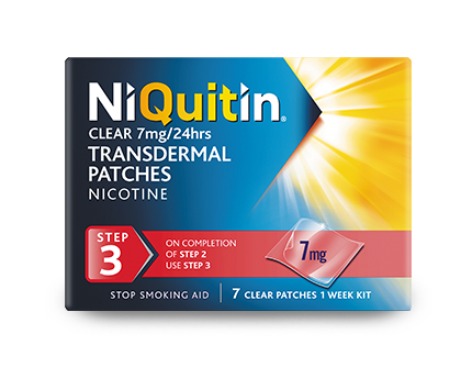 Niquitin Clear Patche step 3