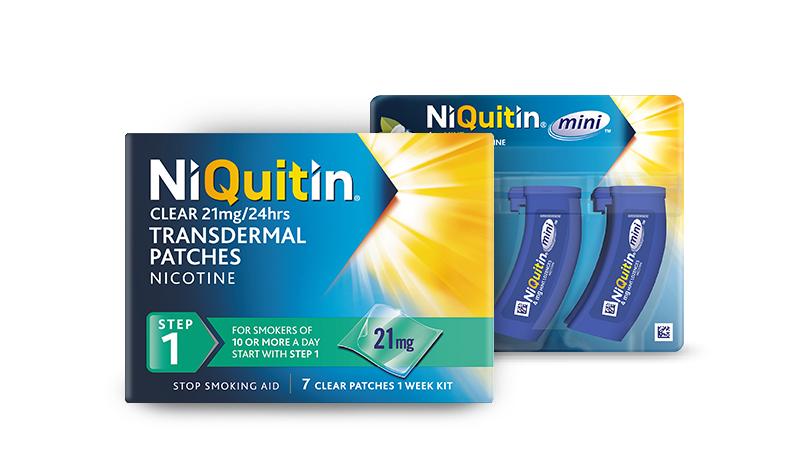 Niquitin Clear Patches & Minis
